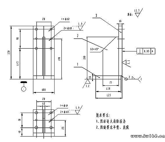 """摘要:从""""N-2-1""""定位原理、基准统一、定位结构等各方面论述汽车焊接夹具定位设计贵规范化。重点描述定位结构规范化,制定非标设计设计规范,缩短汽车焊接夹具设计周期,降低设计成本。 Auto Welding Jigs Design of Orientati"""