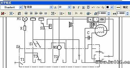 电气互锁的正反转实物接线图