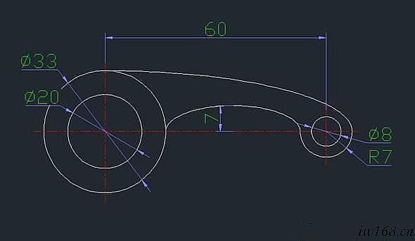 cad绘图基础实例(一)
