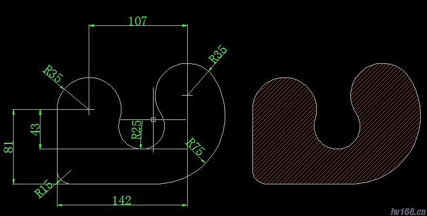 cad机械制图习题(配有解答)