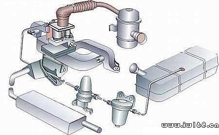 汽车发动机构造原理图解高清图片