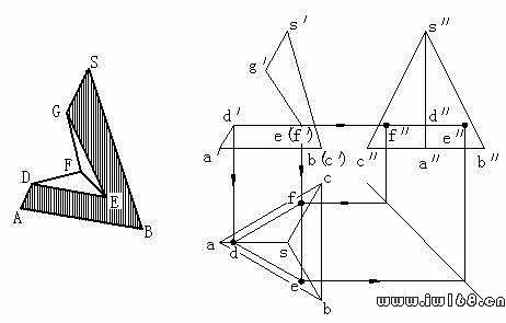 三棱锥素描画法步骤图