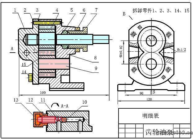 分类导航 工程/机械 机械工程设计 基础知识 > 装配图尺寸标注要求