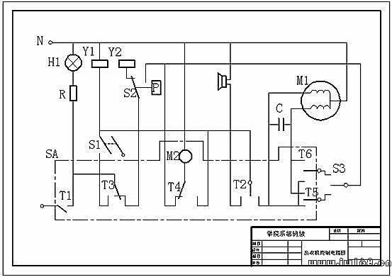 电路控制图,电路接线图