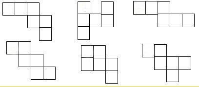 如图中是正方体的展开图的有()个.a.2个b.3个c.4个d.图片