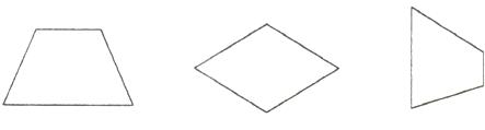 画出下面每个平行四边形或梯形的一条高.图片
