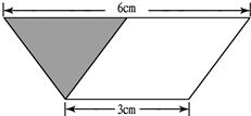 ①画出右边梯形的高. ②量出高图片
