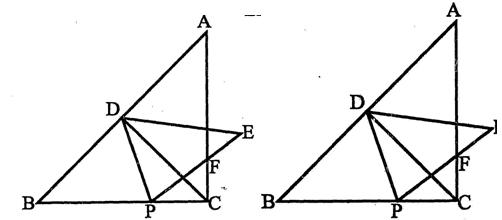 若ab 10 bc 8 ac 6_如图, ABC与 CDE均是等腰直角三角形,∠ACB=∠DCE=90°,D在AB上 ...