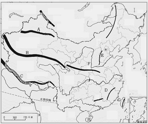 地图 简笔画 手绘 线稿 500_419