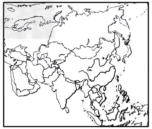 亚洲国家_亚洲,b.欧洲,c.非洲,d.大洋洲(2)将代表国家