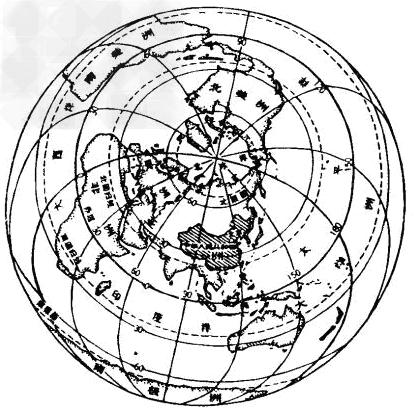 读中国在地球上的位置示意图,完成下列要求:(1)我国位于______东部