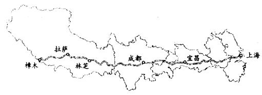 中国地理三大阶梯图_下图是经纬网和中国著名山脉的叠加图,图中经纬线间隔度数 ...