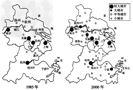 区空间结构演化图