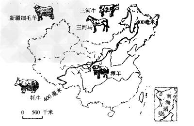 青海地图轮廓简笔画