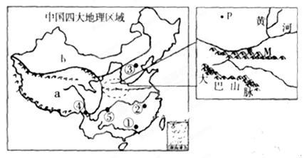 形成南方地区与北方地区自然环境差异的主要因素是 A.地形B.气候C.