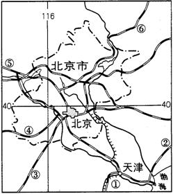北京经纬_(1)北京市大致的经纬度