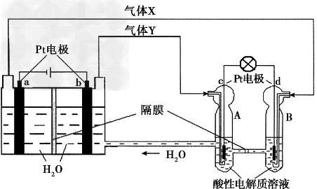 """空间实验室""""天宫一号""""的供电系统中有再生氢氧燃料电池(RFC),RFC是一种将水电解技术与氢氧燃料电池技术相结合的可充放电池。下图为RFC工作原理示意图,有关说法正确的是"""