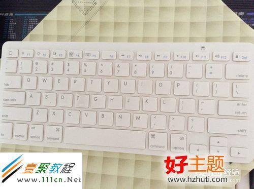 苹果ipad平板怎么用外置键盘打字?-ios7教程-手机开发