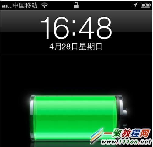 苹果手机连接电脑显示充电