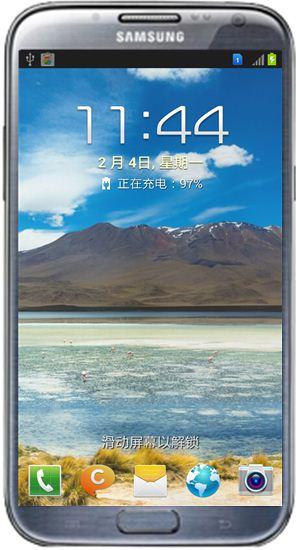 三星n7102手机怎么设置屏幕锁定壁纸-手机软件-手机开发