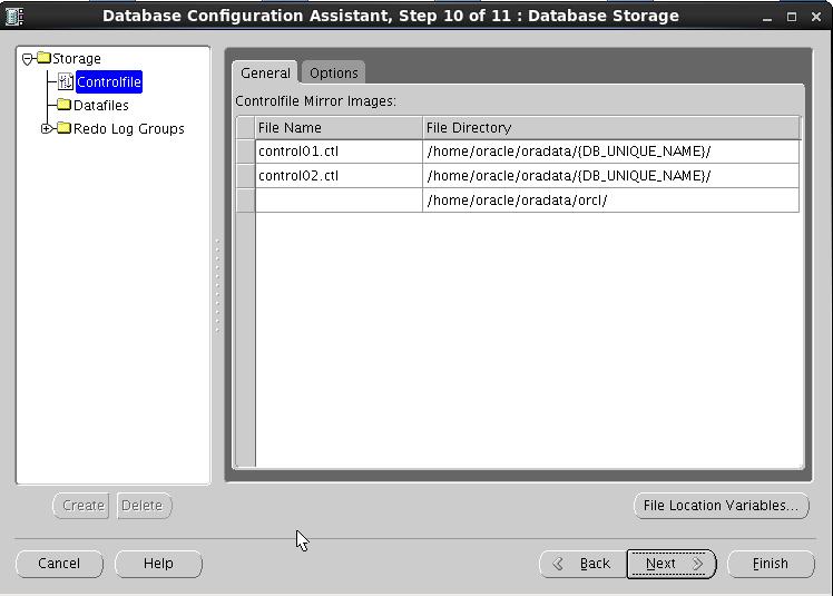 linux下安装单机版oracle11gr2