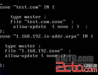 CentOS6.2_64 DNS Bind-9.8.2 - 百科教程网_