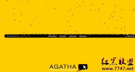 黄色色哥哥色妹妹_30个以黄色为主色系的网页设计欣赏