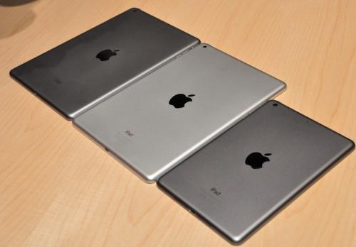 ipad air和ipad mini对比图赏