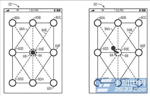 苹果新专利:比安卓更复杂的图形解锁