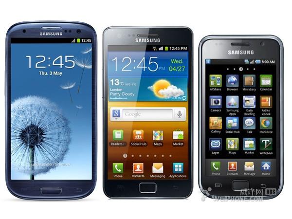 后浪不如前浪  Galaxy S III屏幕亮度不如前辈