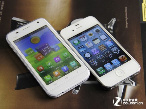 步步高手机vivos7_比肩ios vivo s7与苹果4s界面专项对比