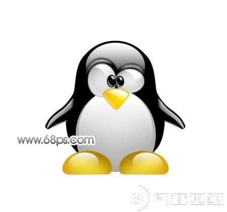 ps打造可爱的小企鹅