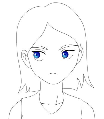 flash绘画技巧:画人物的几个步骤
