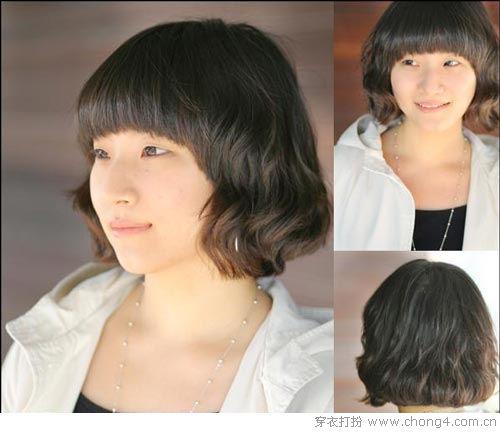 06 蓬蓬卷发:小可爱女生最爱的爆炸头,搭配蝴蝶结小发卡看起来更