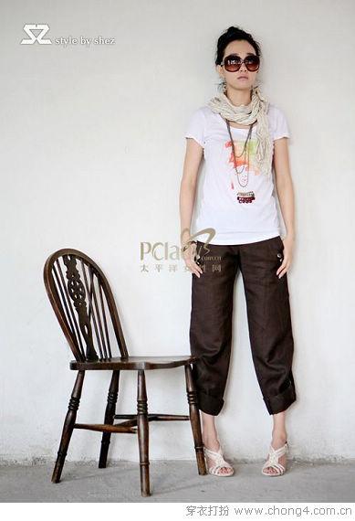今年夏天流行的裤装搭配