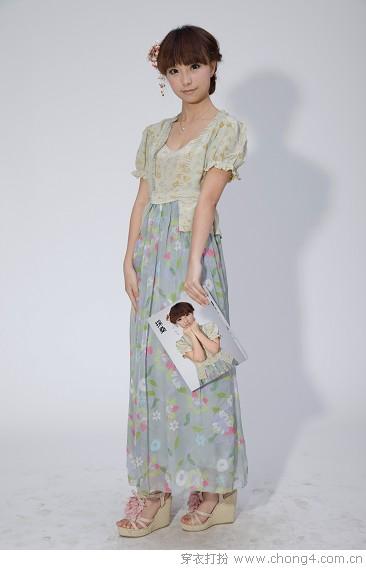 中国古典风连衣裙