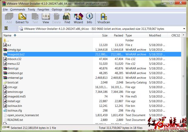 在u盘上安装esxi4.1