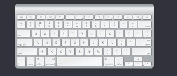 Mac视频进水了?电脑苹果教程进水后维键盘刺绣键盘针法图片