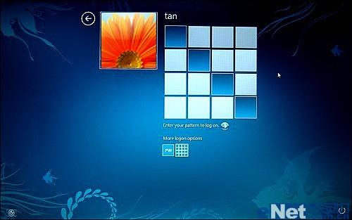 5分鐘讓你用上windows 8圖形登錄界面圖片