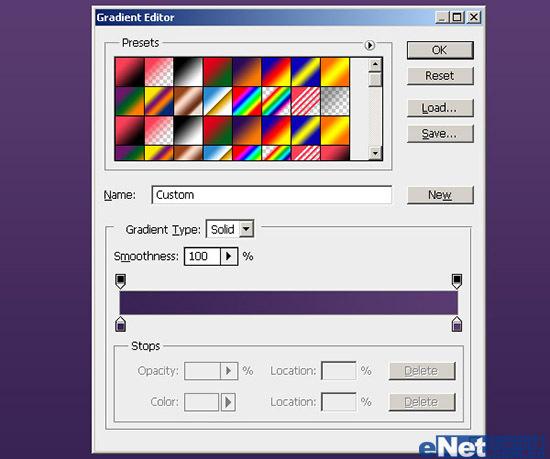 在Photoshop中使用路径打造彩色文字