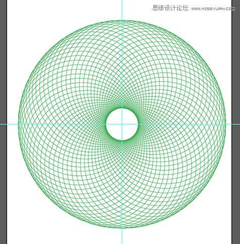 用ai绘制漂亮的螺旋圆点花纹图案