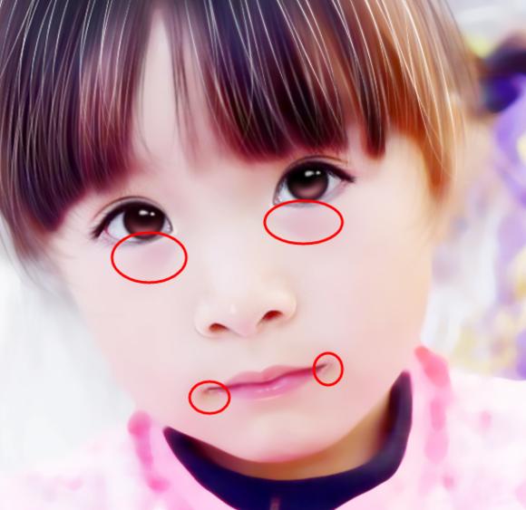 ps打造唯美儿童转手绘风格照片