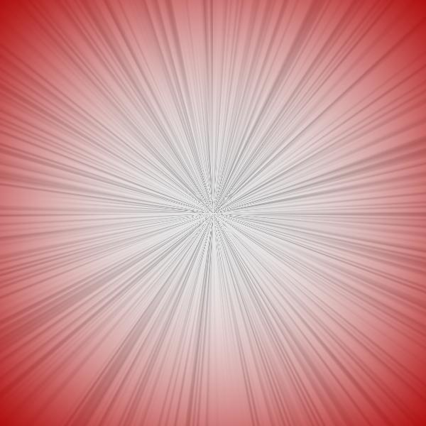 ps简单制作光芒效果