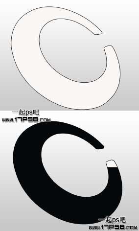 分类导航 计算机/互联网 平面设计 photoshop > ps绘制环形立体标志