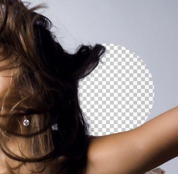 PS抠出复杂头发的方法