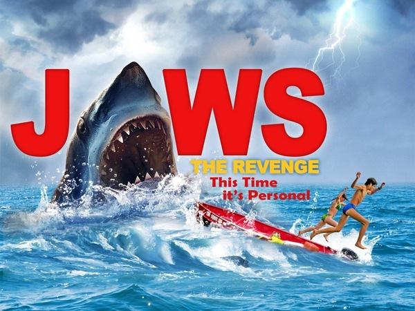 ps制作大白鲨电影海报