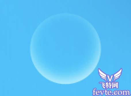 PS制作漂亮蓝水晶效果字