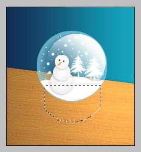 PS制作水晶圣诞小球