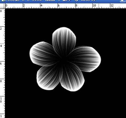 PS滤镜制作漂亮五彩花朵