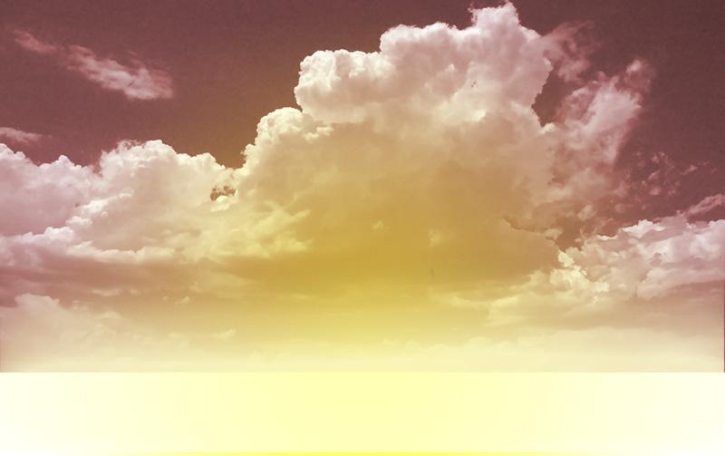 ps合成飞越彩虹的热气球风景桌面